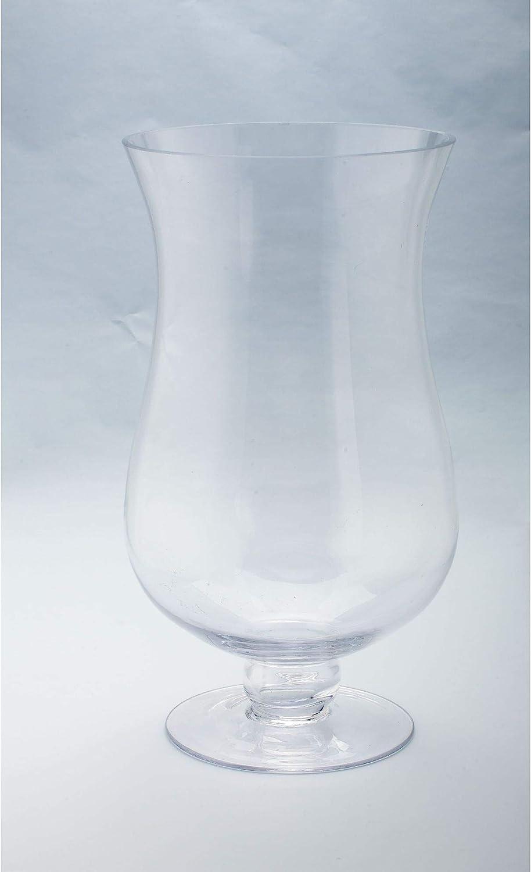 "Super beauty product restock quality top CC Easy-to-use Home Furnishings 16"" Handblown Hurricane Ca Glass Pillar"