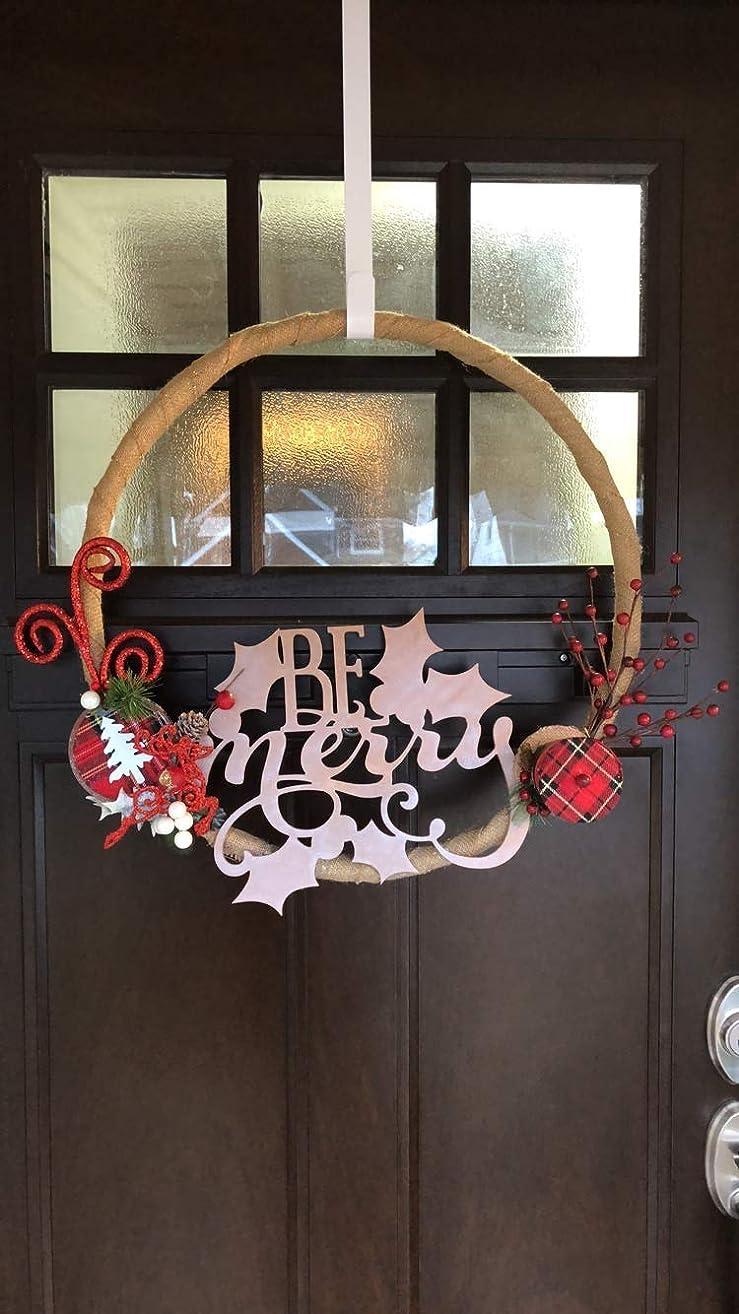 Christmas Decor: Farmhouse Christmas Wreath
