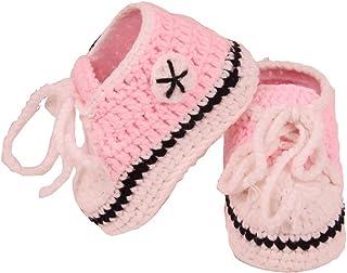 Calcetines hechos a mano del ganchillo del bebéhttps://amzn.to/2MjeHOl