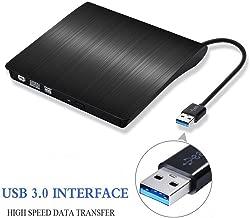 Ultra Slim External USB 3.0 CD/DVD-RW Writer Burner Player for Macbook Pro Air Imac or Other PC/Laptop