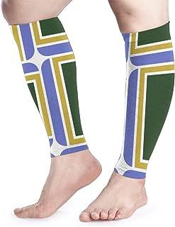 Shadidi Calf Compression Sleeve Flag of Portland Oregon Calf Shin Supports Leg Compression Socks - Men Women