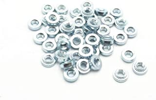 #10-24-2 Coarse Thread Self Clinching Nut Low Carbon Steel Zinc Plated Pk 8000
