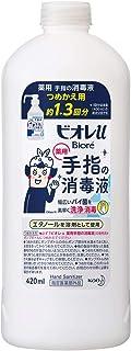 ビオレu 手指の消毒液 つめかえ用(約1.3回分) 420ml