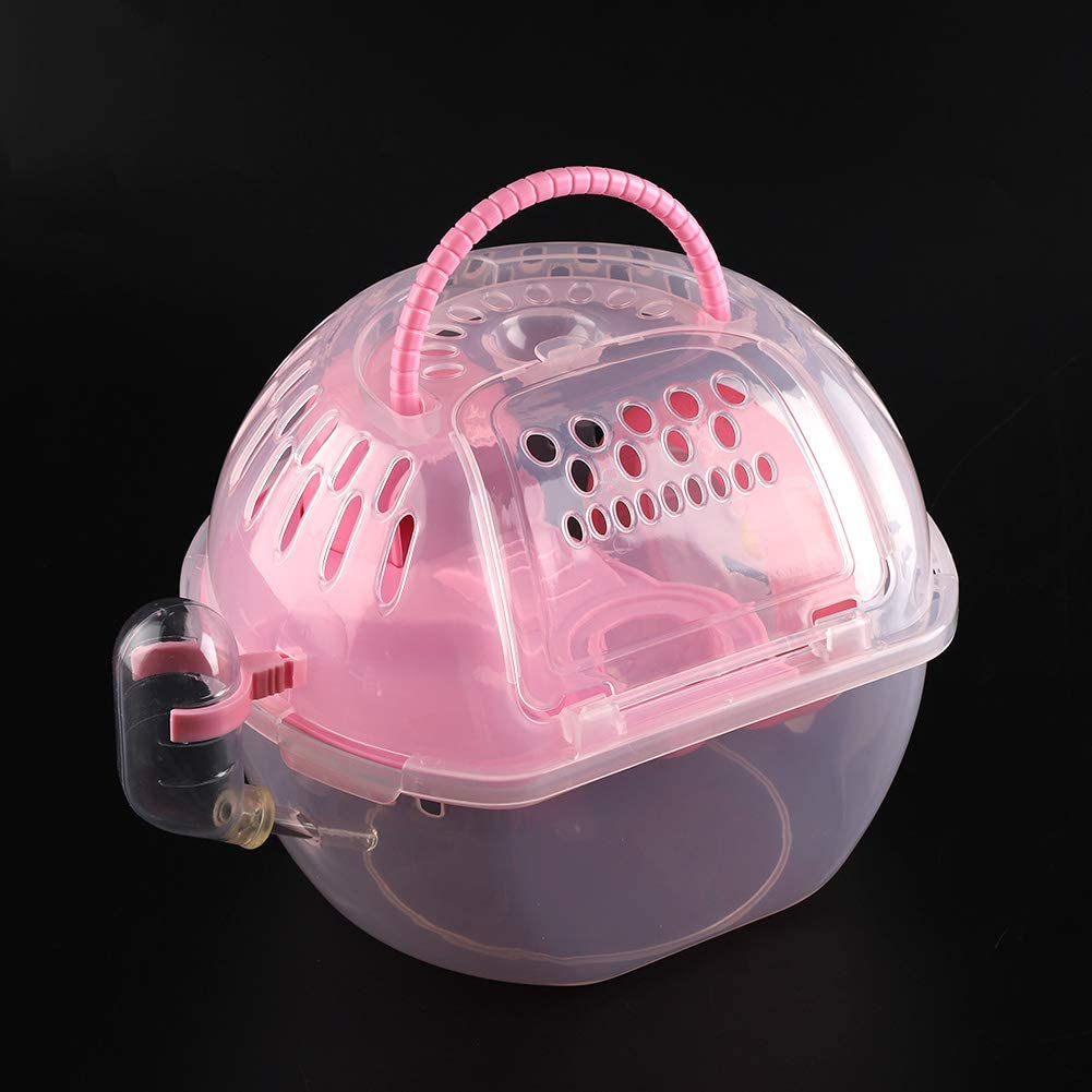 Soapow Portable Hamster Cage with Plastic Hous Mouse Transparent Max 65% OFF Max 84% OFF