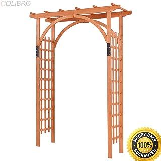 wood trellis ceiling