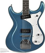Eastwood Sidejack Baritone Deluxe - Metallic Blue