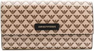 Luxury Fashion | Emporio Armani Womens Y3H170YFH1A88407 Beige Wallet | Fall Winter 19