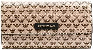 Luxury Fashion | Emporio Armani Womens Y3H170YFH1A88407 Beige Wallet | Fall Winter 19