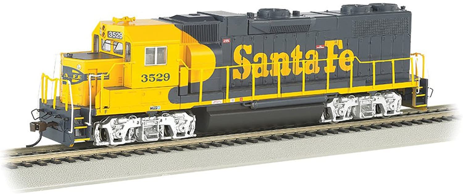 Bachmann Industries EMD GP38 2 DCC Santa Fe  3529 Sound Value Equipped Locomotive (HO Scale)