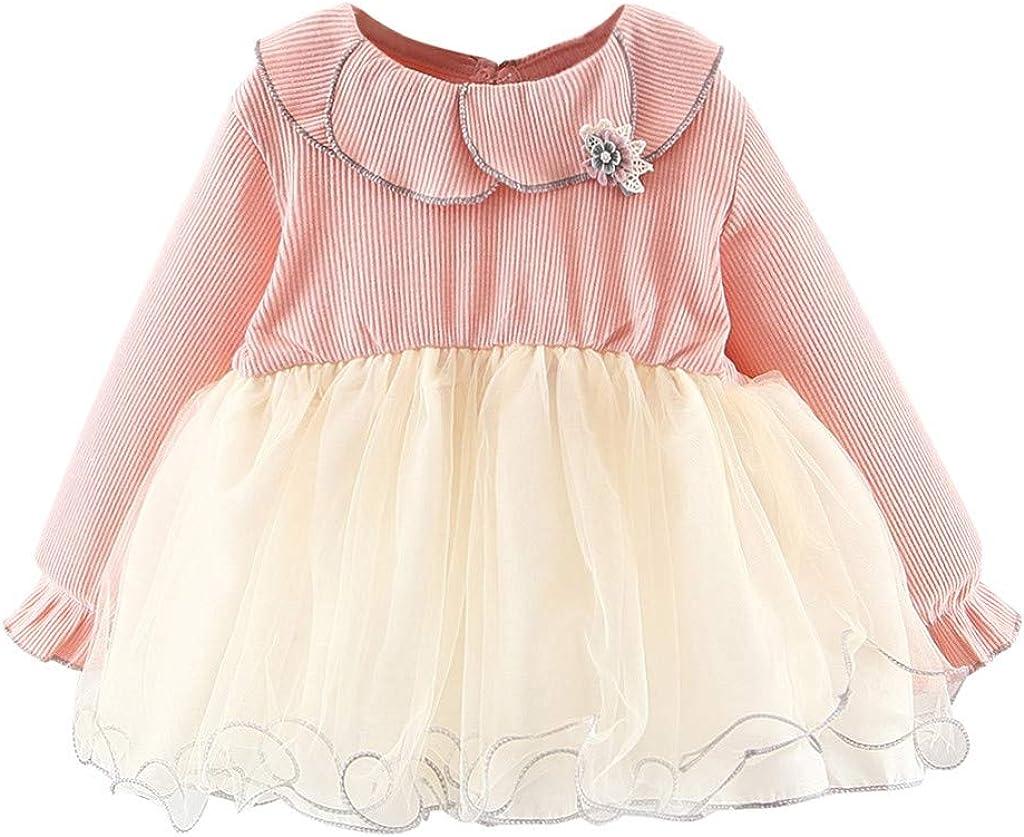 Swyss Toddler Baby Girls Princess Collar Doll Charlotte Mall free shipping Pa Ruffles Dresses