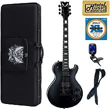 Dean TB STH BKS Thoroughbred Stealth Black Guitar w/EMG's, Soft Case Bundle