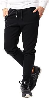 [ジギーズショップ] ロングパンツ スウェットパンツ メンズ ジョガーパンツ ジャージ スリム 細身 無地 サイドライン 迷彩