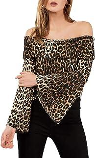 4770a6aa4 Amazon.es: blusas de mujer cuello barco - Adelinaa / Blusas y ...