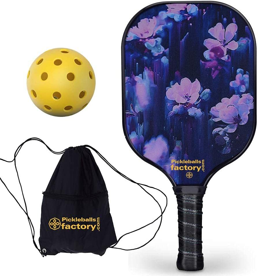 Special sale item BBI Pickleball Paddle Rackets Dark Now on sale Follower Graphit
