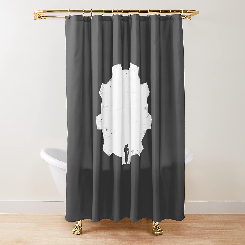Lone SALENEW very popular Vault Indefinitely Dweller Fabric Shower Printed Customize Curtains Bat
