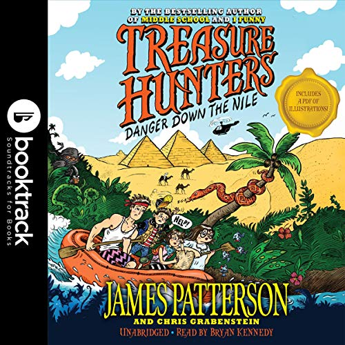 Treasure Hunters audiobook cover art