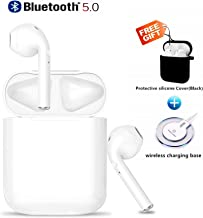 Bluetooth 5.0 Headphones ture Wireless Earbuds 3D Stereo IPX5 Waterproof With Wireless Charger Fast Charging In-ear Earphones for Apple Airpod 2 /of airpods/Apple Cordless Earbuds