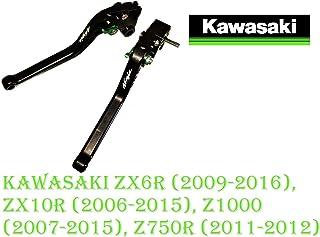 2004//Kawasaki Zx-6rr 2003 Htt Moto Noir Haute r/ésistance /à la traction en aluminium pliable Pied P/édale de frein arri/ère Levier pour Kawasaki Zx-6r 636/2003 2004