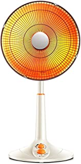 Heater LVZAIXI Calentador Solar pequeño Estufa Vertical para Hornear Vertical Cabeza de elevación Grande Calefactor eléctrico Ventilador eléctrico de Dormitorio