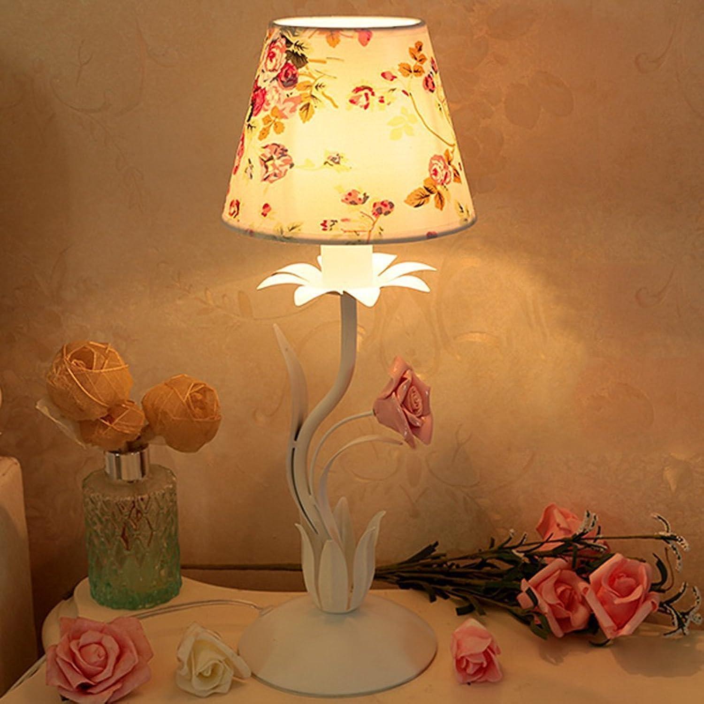 GBT Schmiedeeisen Garten Rosa Tischlampe Kinder Kinder Kinder 'S Zimmer Schlafzimmer Nachttischlampe, B076KPLDR8 | Die Königin Der Qualität  8b1fd0