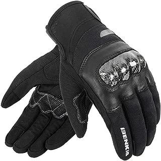 Kecontsy Microfiber Moto Breathable Motocross Off-Road Gloves Motorbike Full Finger Gloves