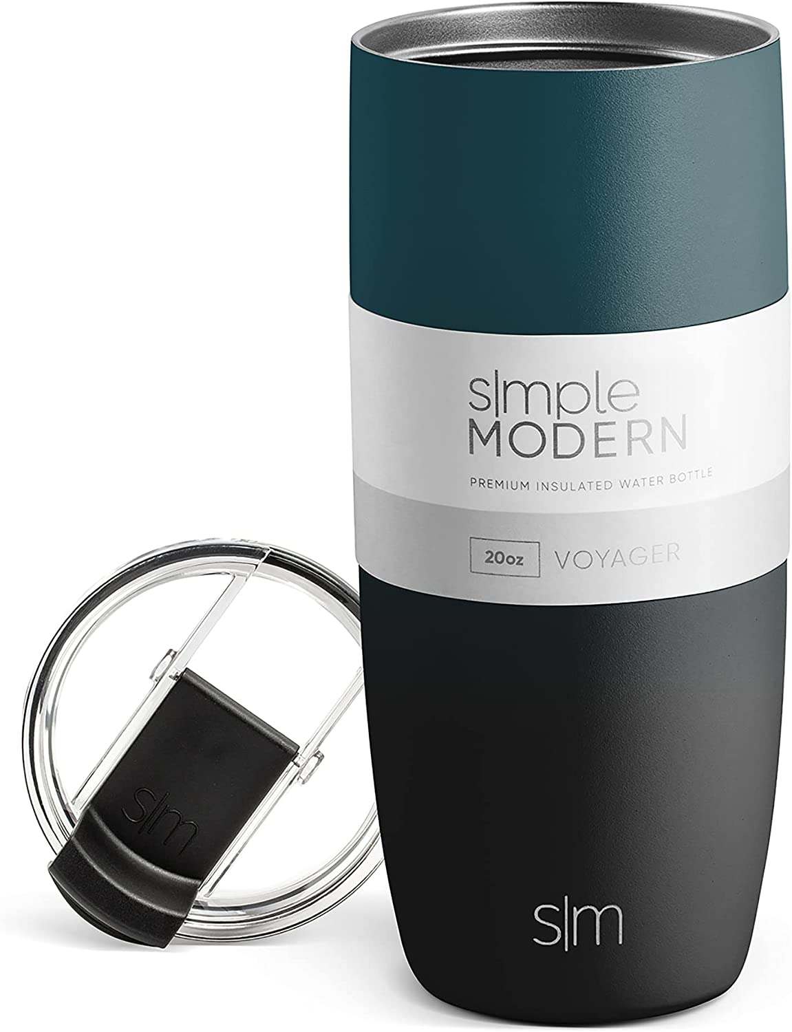 Simple Modern Voyager Insulated Travel Coffee Mug Tumbler with C