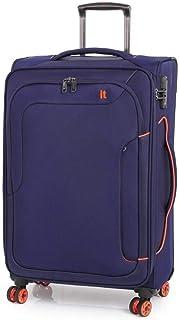 IT Luggage - Megalite Bold 70cm Medium Softsided Luggage - Navy
