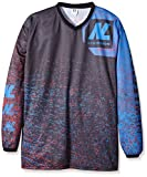New Legion Paintball Jersey Ultimate Pro, Mehrfarbig (Dash Red/Blue), Gr. M/L