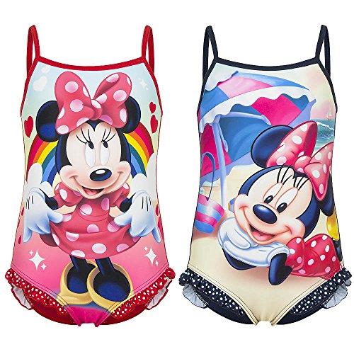 Disney Costume Mare Piscina Intero Minnie Da 4 Anni A 8 Anni Taglia 8 Anni Colore