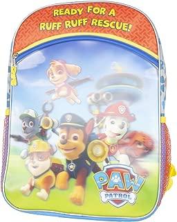 Paw Patrol Nickelodeon 16 Metallic and Linticular Kids Backpack