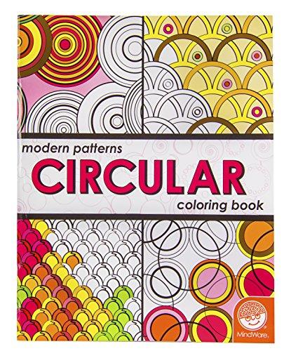 MindWare Modern Patterns Adult Coloring: Circular