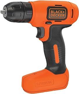 BLACK+DECKER 7.2 V Cordless Compact Cordless Drill Power Tool, BDCD8-GB
