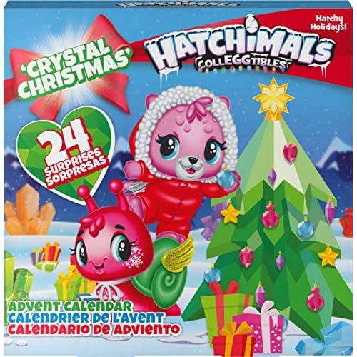 HATCHIMALS 6044284 - Calendario dell'Avvento CollEGGtibles con Personaggi esclusivi e Accessori di Carta, per Bambini dai 5 Anni in su, Multicolore