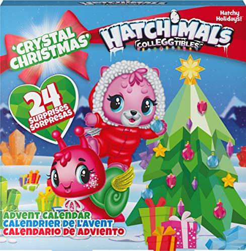 Hatchimals CollEGGtibles Crystal Christmas - Adventskalender mit 15 exklusiven Sammelfiguren und mehr als 24 Überraschungen