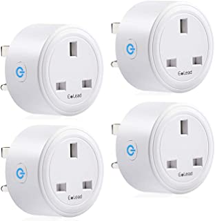 ELEAD 16A Smart Plug WiFi Plug Outlet Socket Extension Mini Timer Remote Control Plugs for Air Conditioner Home High-power...