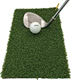 Fairway Pro+ Golf Mat | Winter Rules Fairway Mats | Professional Grade | Spring Clip Included | Protect your...