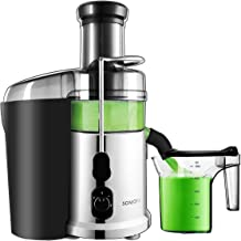 Juicer Machine SOMOYA 2019 Juice Extractor Easy Clean 700 Watt with Quiet Motor,Centrifugal Juicer High Speed Stainless Steel, Extract Fresh Vegetables and Fruits Juicer