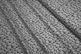 Stoffe Bio BW Stenzo Jersey Blätter schwarz auf lichtgrau