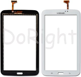 SKILIWAH® Para Samsung T210 Galaxy Tab 3 (7.0 pulgadas) Pantalla Táctil Vidrio Digitalizador con Cable Flex Touch Screen Display Versión Wifi