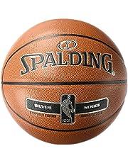 Spalding NBA Silver Basketbal bal, oranje, 7