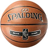 Spalding NBA Silver Basketball Ball, orange, 6