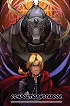Elric Brothers Notebook: (110 Pages, Lined, 6 x 9)
