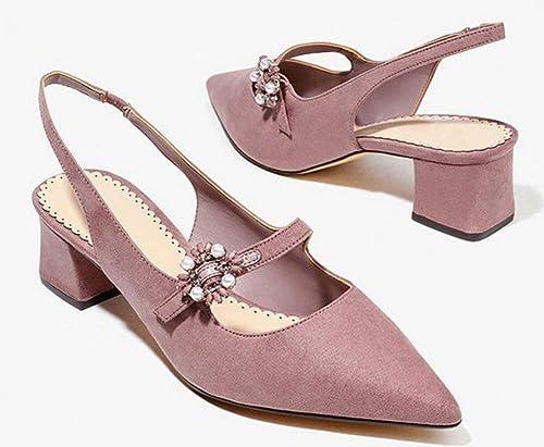 Fuxitoggo Hex Socket Big-Bad avec Les Chaussures. (Couleuré   Rose, Taille   39)