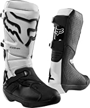 Fox Racing Comp Men`s Off-Road Motorcycle Boots - White / 8