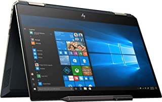 Hp Spectre x360, 2 in 1 Hp Spectre Laptop, Inter Quad-Core i7-8565U, Spectre x360 13.3 4K UHD Touchscreen, 16GB DDR4, 1TB PCIe SSD, Thunderbolt Backlit KB BT 5.0 Ink Fingerprint Pen Win 10