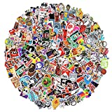 Stickers 500 pcs Laptop Stickers Car Motorcycle Bicycle Luggage Decal Graffiti Patches Skateboard Stickers for Laptop - No-Duplicate Sticker Pack.