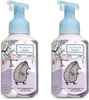 Bath & Body Works Gentle Foaming Hand Soap - Fresh Sparkling Snow (2 Pack)