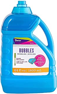 Darice 64-Ounce Bubble Solution-Includes Wand and Easy Pour Funnel Top-Works with Bubble..