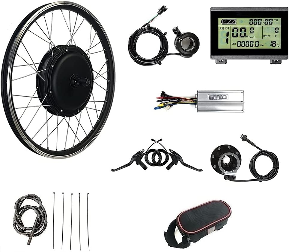 RICETOO 48V1500W Ebike Nippon Baltimore Mall regular agency Kit Electric Bicycle Conversion LCD