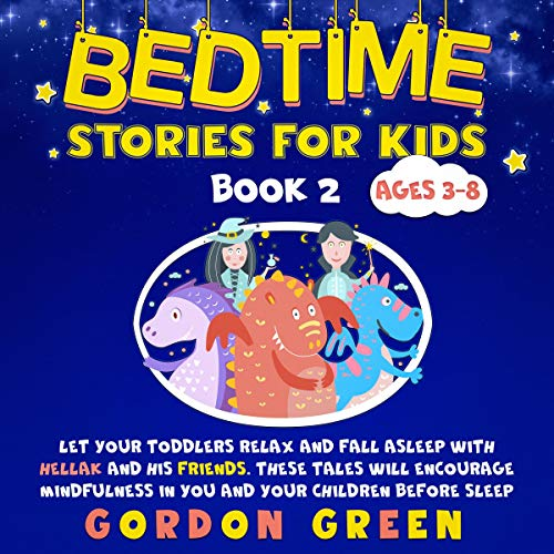 Bedtime Stories for Kids Book 2 audiobook cover art